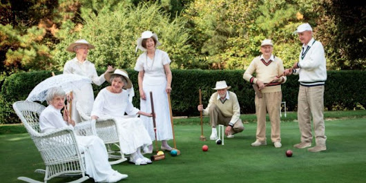 Seniors Recreate 'Downton Abbey' Scenes That Even The Dowager Countess Would Love