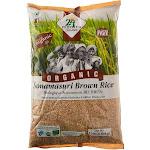 24 Mantra Organic Brown Sonamasuri Rice 10 Lbs