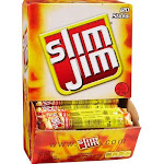 Slim Jim Snack Sticks, Original - 120 count, 0.28 oz box