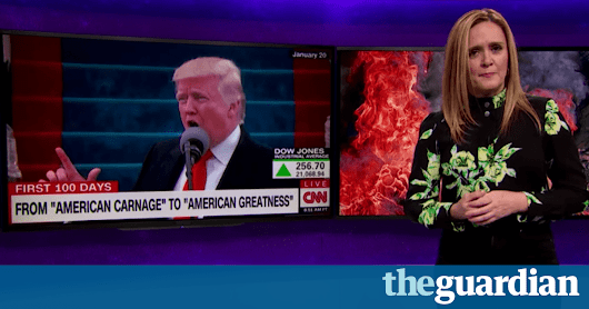 Late-night TV hosts skewer Trump's 'incoherent revenge fantasies' | Television & radio | The Guardian