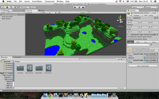 New Cubiquity for Unity snapshot with OS X and Linux support - Volumes Of Fun