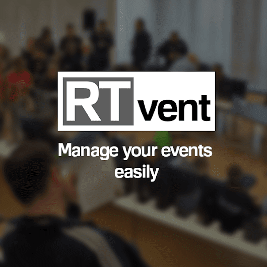 RTvent – Manage your events easily – Organize your events incl...