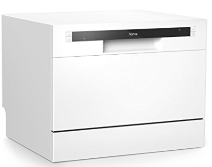 hOmeLabs Compact Portable Mini Countertop Dishwasher Review - Perfect Choice for Small Apartment