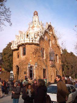 foto scattata da me, ingresso parco Guell a Barcellona | Source Transf