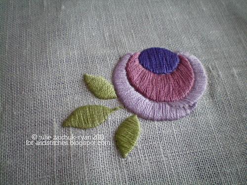 May: Exploring Satin Stitch on &Stitches!
