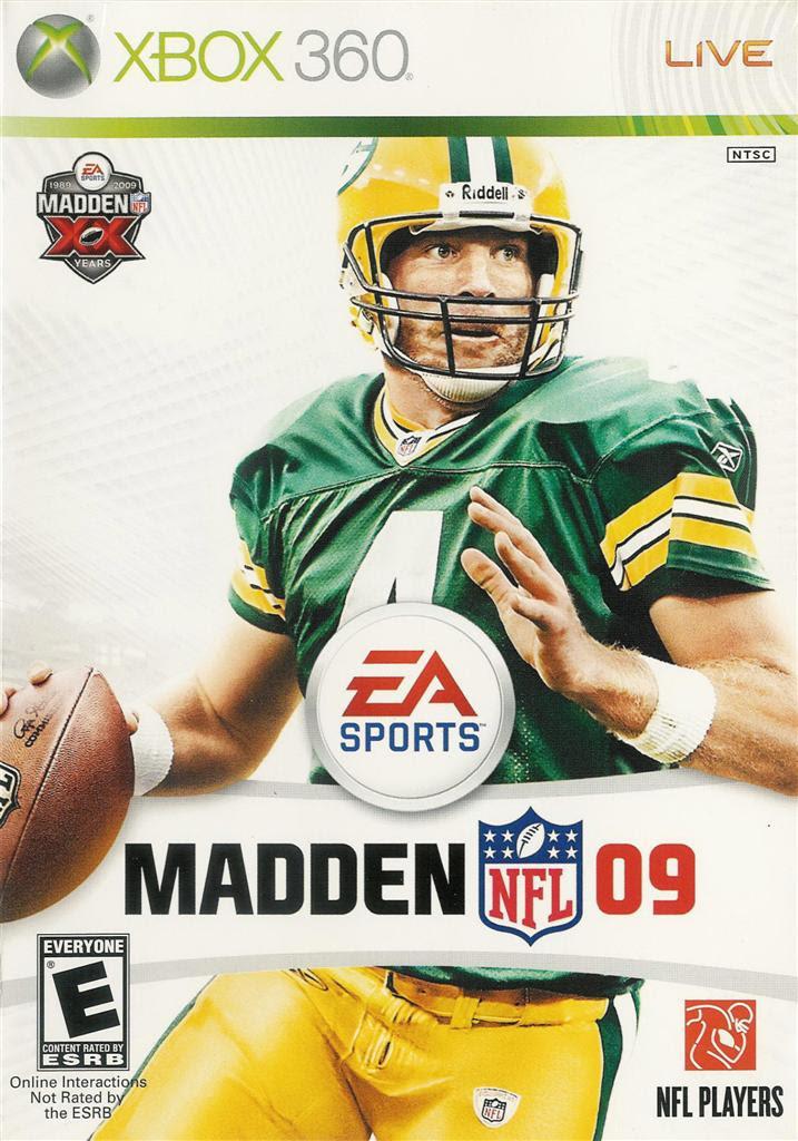 Madden NFL 09  Game  XBox 360 Live 14633156003  eBay