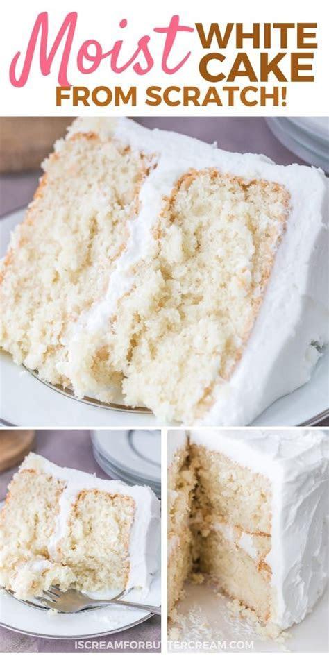 Moist White Cake   Recipe   Recipes   Cake recipes, Cake