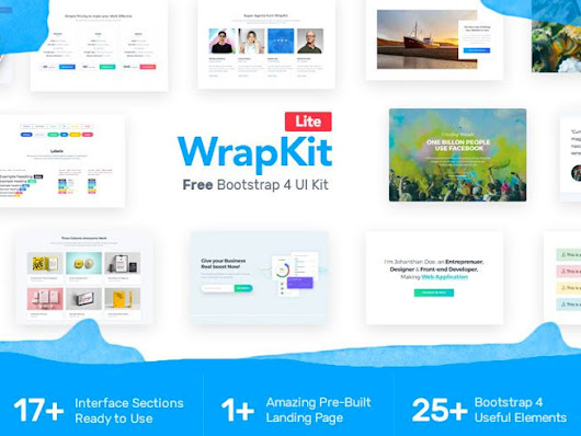 Powerful Bootstrap 4 UI Kit | Wrappixel