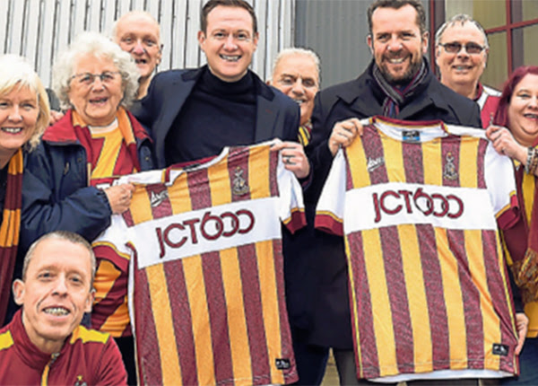Bradford City Take Unique Approach with 4th Jersey - Soccer365