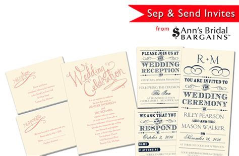 Ann's Bridal Bargains Keeps Your Vegas Wedding Invites