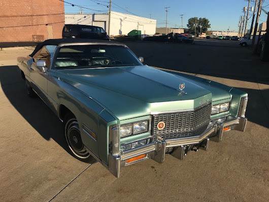rebuilt engine 1976 Cadillac Eldorado Convertible for sale