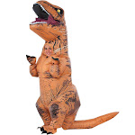 Rubie's Jurassic World Kids' T-Rex Inflatable Costume - One Size