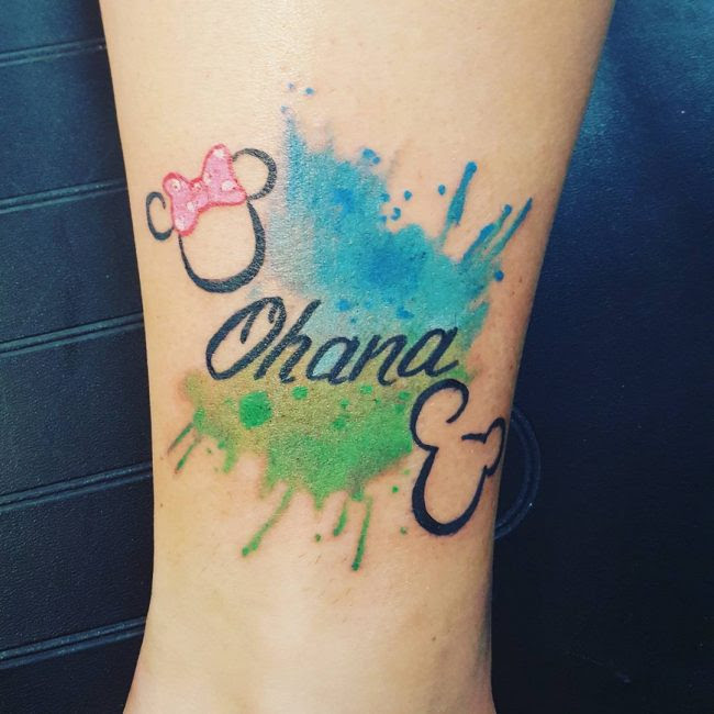 55 Delightful Ohana Tattoo Designs No One Gets Left Behind