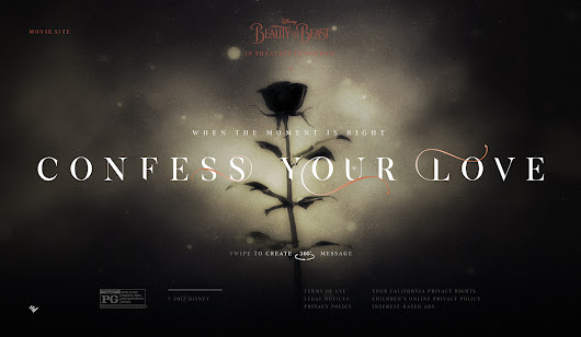 Confess Your Love 360 - Awwwards SOTD