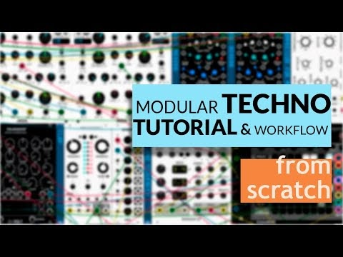 MATRIXSYNTH: How to make Techno Track with Modular Synth
