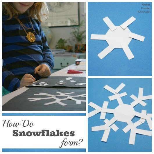 How Do Snowflakes Form? Hands on Science for Kids