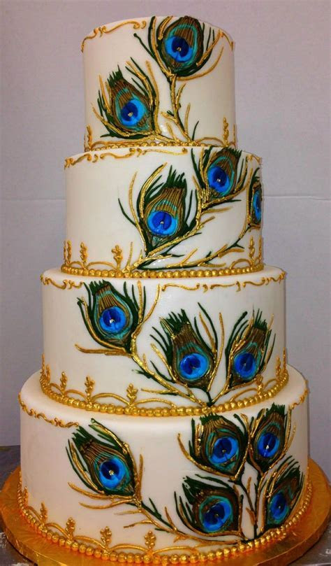Peacock feathers   Wedding cakes   Pinterest   Peacocks