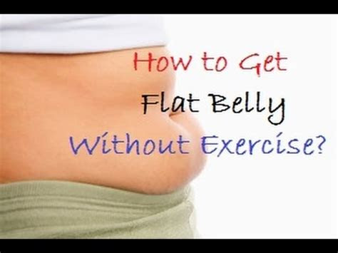 flat stomach fast  exercise youtube