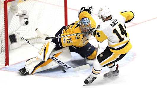 2017 Stanley Cup finals -- Pekka Rinne steals Game 4, Preds even series