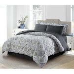 Bibb Home 8 PC Down Alternative Comforter Set