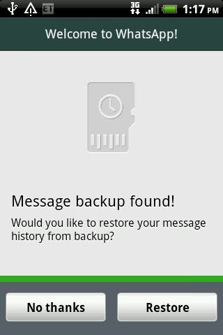 Get back deleted whatsapp messages