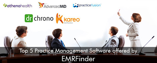 Top 5 Practice Management Software Offered By EMRFinder
