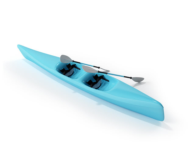 MMD Inflatable Canoe