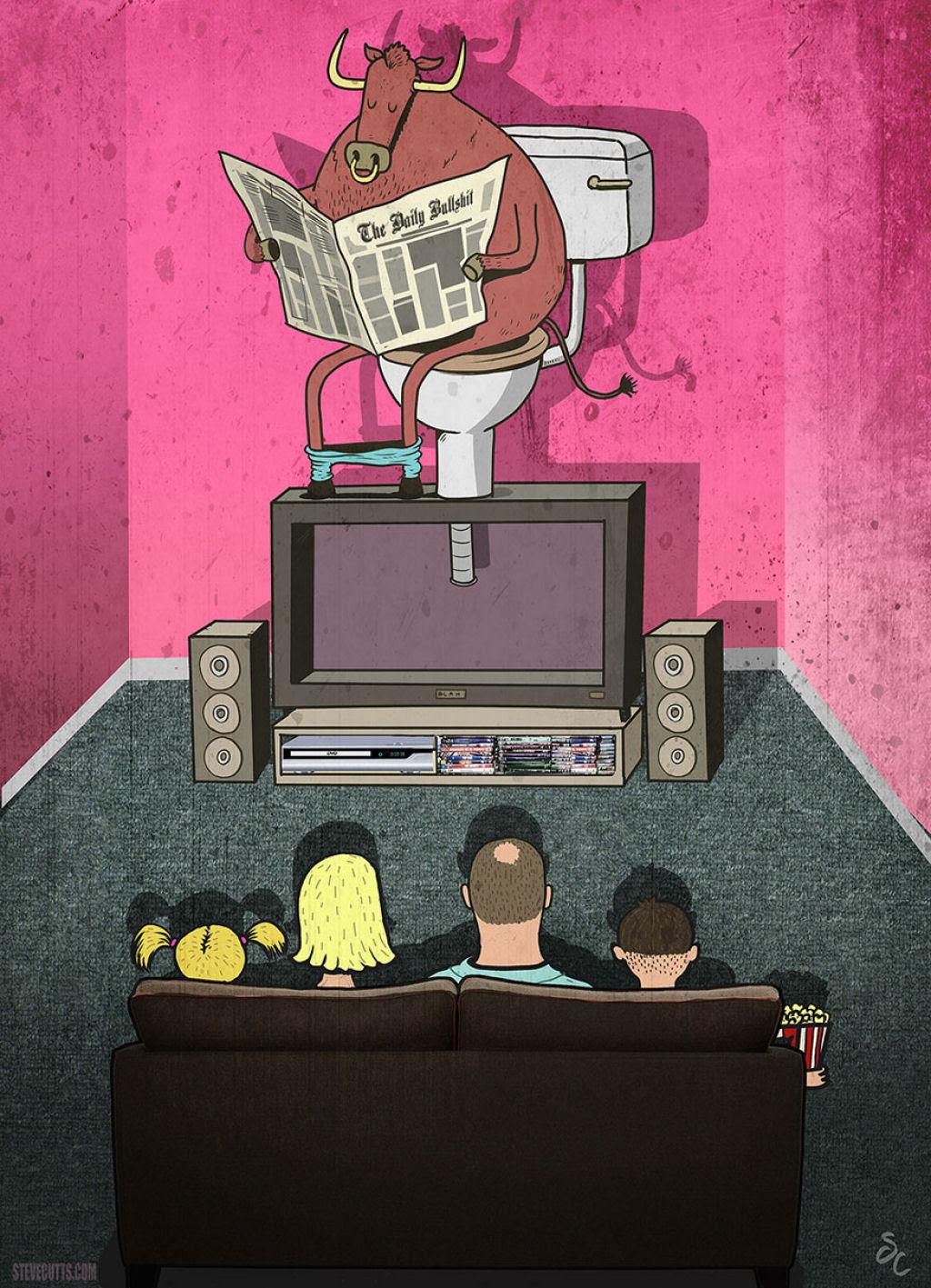 Estas ilustrações proporcionam, uma nova perspectiva do mundo moderno 12
