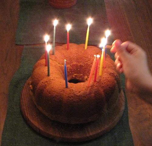 birthday pound cake