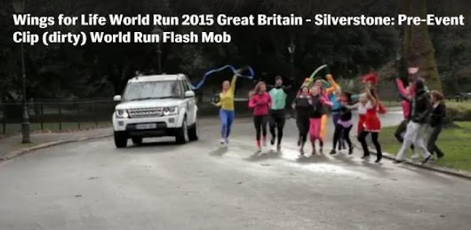 Flash Mob Video Celebrates Wings For Life World Run
