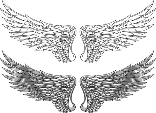 Tattoos Wings on Wings Tattoo   Stock Vektorgrafik    Surya Ali Zaidan  7683861