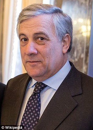European parliament president Antonio Tajani said as many as twenty million African migrants could come to Europe in the next few years