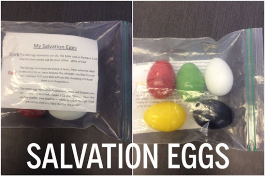 Salvation Eggs: an Easter lesson idea - PastorRonBrooks