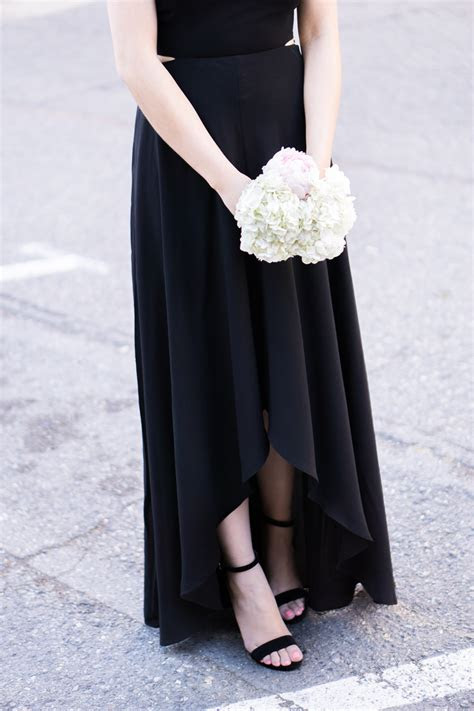 Black Maxi Dress   Just A Tina Bit
