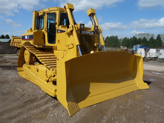 Caterpillar D6R XW III dozer for sale Ex.MOD and NATO disposals