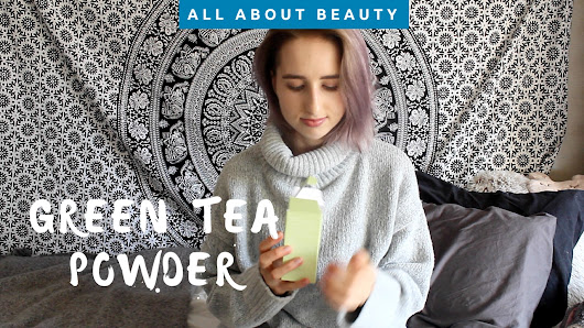 Green Tea & Enzyme Powder Wash by Wishtrend • Wonderlifeofsara