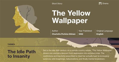 yellow wallpaper plot summary  hero