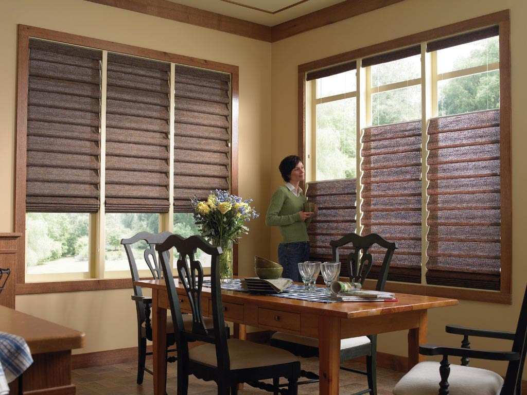 Kitchen Window Blinds And Shades  Window Treatments Design Ideas