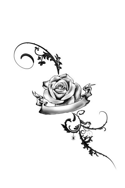 Free Rose Vine Drawings Download Free Clip Art Free Clip Art On