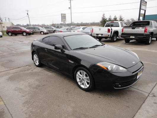 Used 2007 Hyundai Tiburon for Sale in Des Moines IA 50313 Reliable Motors