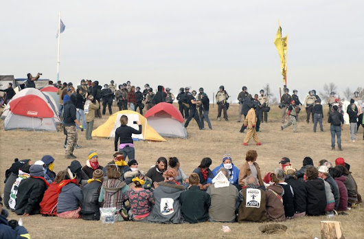 Money pours in for anti-pipeline protest, but will it last?