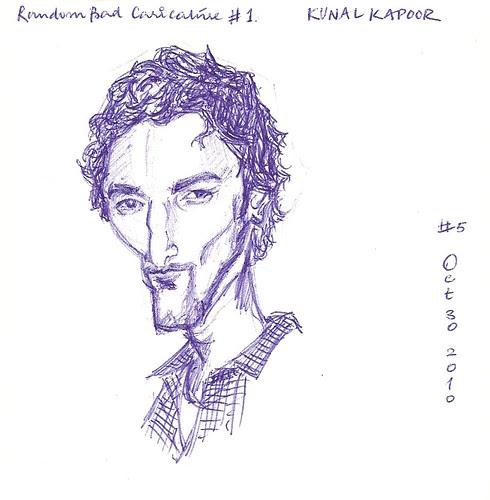 Random celebrity - Kunal Kapoor