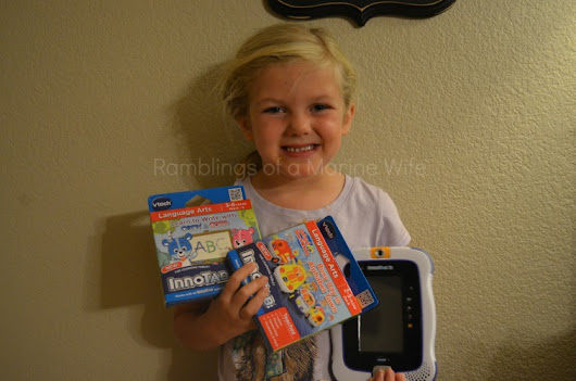 VTech Innotab Learning Cartidges Review and Giveaway | Ramblings of a Marine Wife