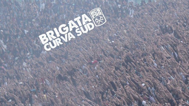 Brigata Curva Sud x PSS Sleman 1976. Copyright: © Twitter Brigata Curva Sud
