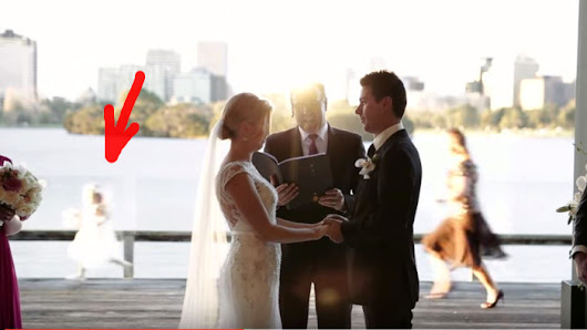 Flower Girl Quits Mid Ceremony And Has Guests Rolling On The Floor Laughing! - Faithreel.com
