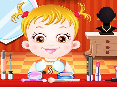 Hazel Bebek Makyaj Oyunu Giysi Giydirme Ve Makyaj Yapma