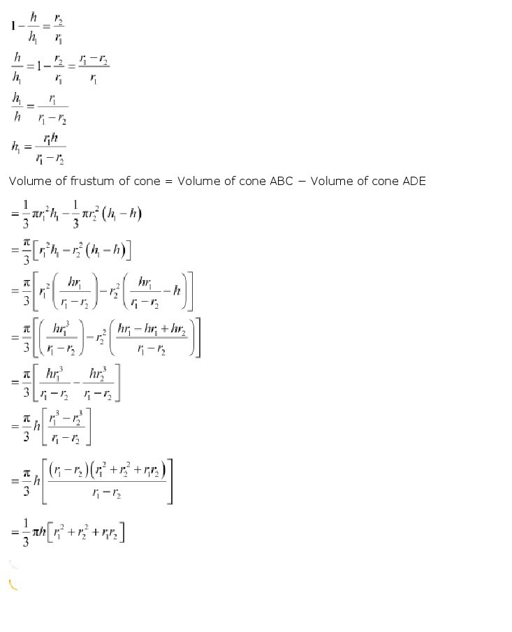 NCERT Solutions for Class 10th Maths: Chapter 13 – Surface Areas and Volumes, CBSE NCERT Class X (10th) | Mathematics, NCERT CBSE Solved Question Answers, KEY NOTES, NCERT Revision Notes, Free NCERT Solutions Online