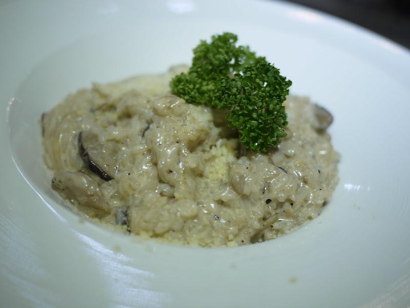 牛肝菌菇燉飯