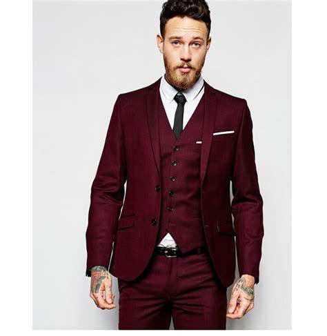2017 New Design Men Wedding Suits Groom Formal Suit Two