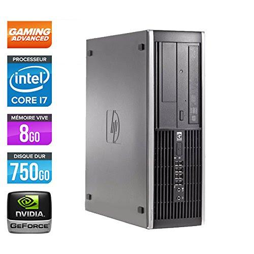 Hp elite 8200 sff ordinateur de bureau noir intel core i7 2600 ghz 8 go de ram - Ordinateur de bureau intel core i7 ...